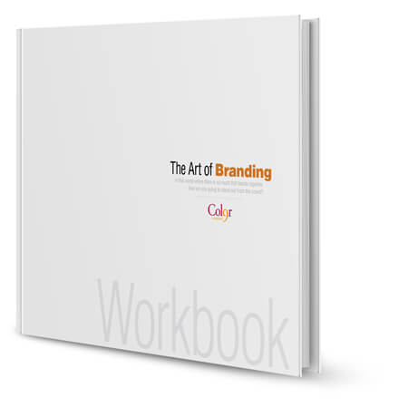 The Art of Branding Workbook by Color 9 Creative