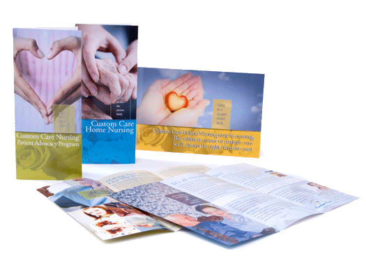 Custom Care Home Nursing, Collateral Material
