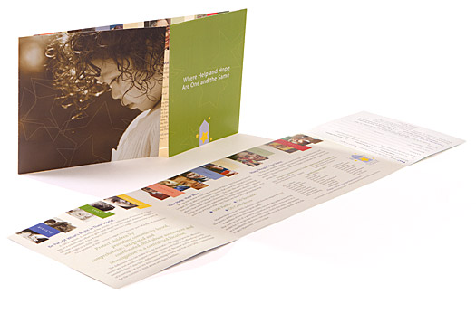 Project Harmony, Child Protection & Victim Agency. Project Harmony Service League Membership Brochure/Mailer