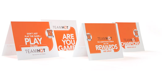 Starwood Hotels & Resorts, Team HOT Note Cards