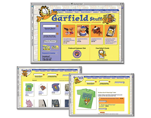 Garfield Stuff Website