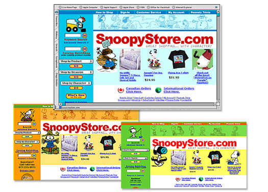 Snoopy Store Website