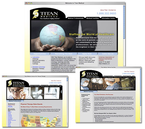 Titan Medical Group Website
